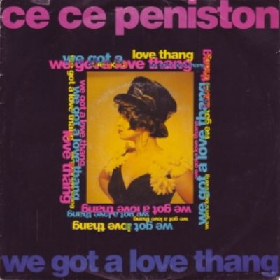CeCe Peniston We Got A Love Thang album cover