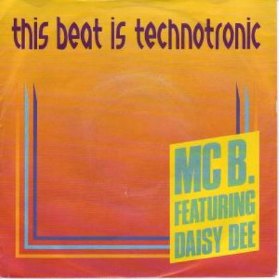 Technotronic & Mc Eric This Beat Is Technotronic album cover