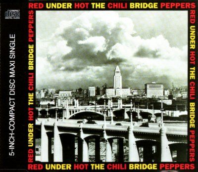 Red Hot Chili Peppers Under The Bridge album cover