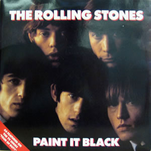 Rolling Stones Paint It Black album cover