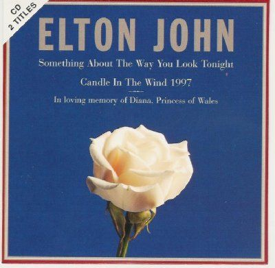 Elton John Candle In The Wind '97 album cover