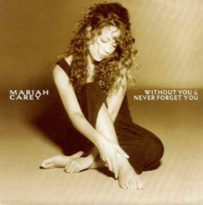 Mariah Carey Without You album cover
