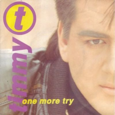 Timmy T One More Try album cover