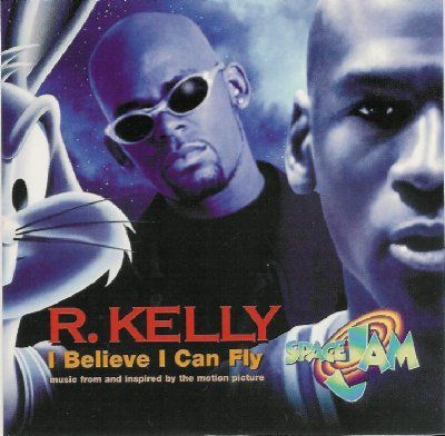 R. Kelly I Believe I Can Fly album cover