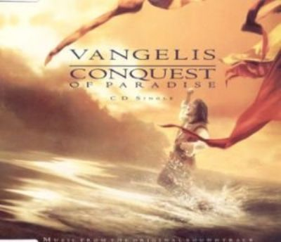 Vangelis Conquest Of Paradise album cover