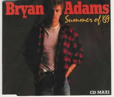Bryan Adams Summer Of '69 album cover
