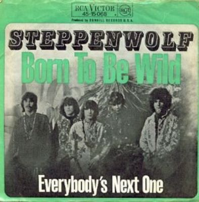 Steppenwolf Born To Be Wild album cover