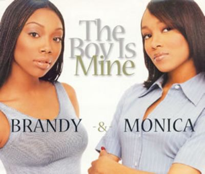 Brandy & Monica The Boy Is Mine album cover
